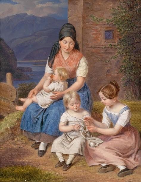 Dipinto di Franz Bernhardt